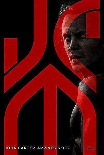 John Carter Original pre-release Poster