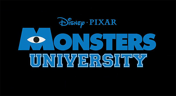 <i>Monsters University</i> Title Card