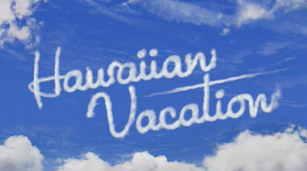<i>Hawaiian Vacation</i> Title Card