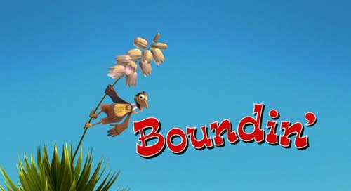 Boundin' Title Card