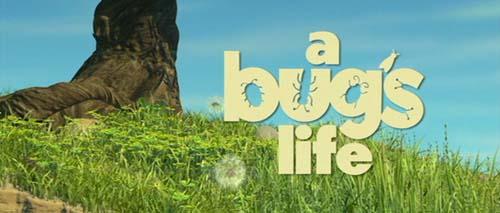 <i>A Bug's Life</i> Title Card