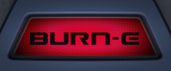 'BURN-E' Title Card
