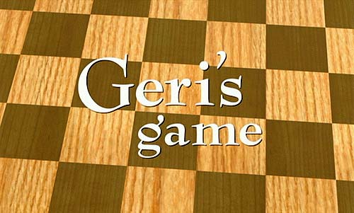 Geri's Game Title Card