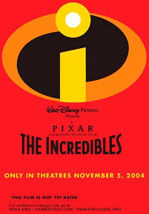 The Incredibles Advance Poster