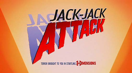 'Jack-Jack Attack' Title Card