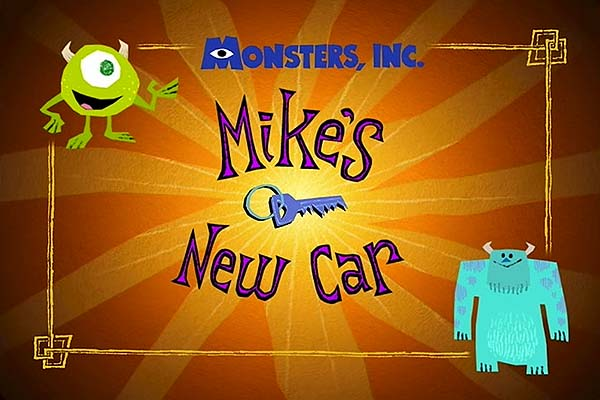'Mike's New Car' Title Card