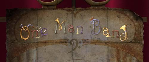 <i>One Man Band</i> Title Card