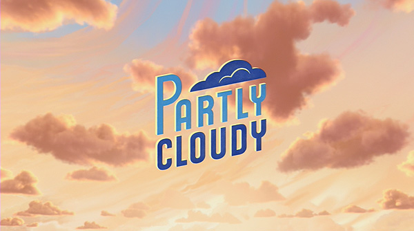 <i>Partly Cloudy</i> Title Card