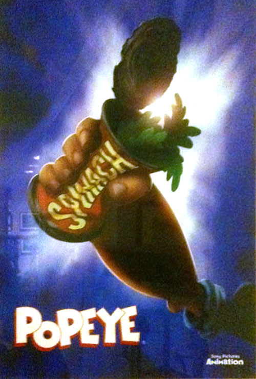 Popeye Promo Poster