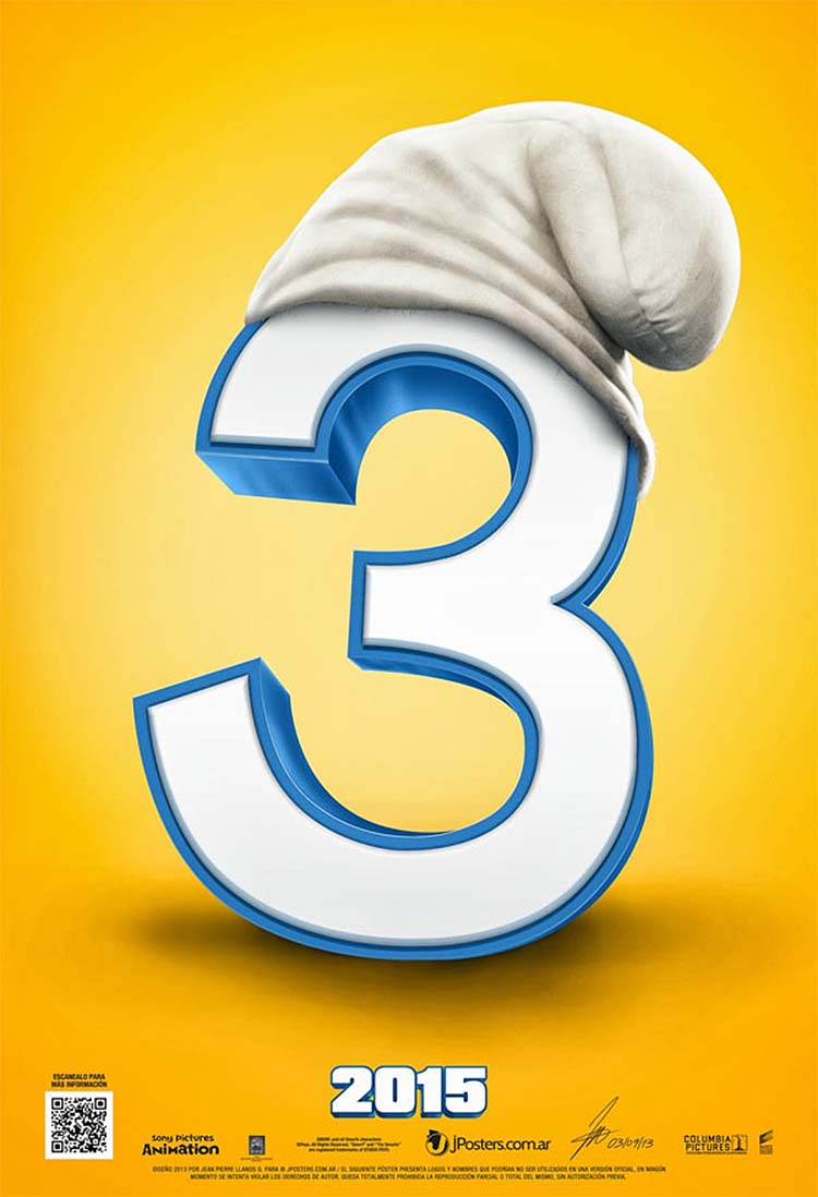 The Untitled Smurfs Movie Teaser Poster