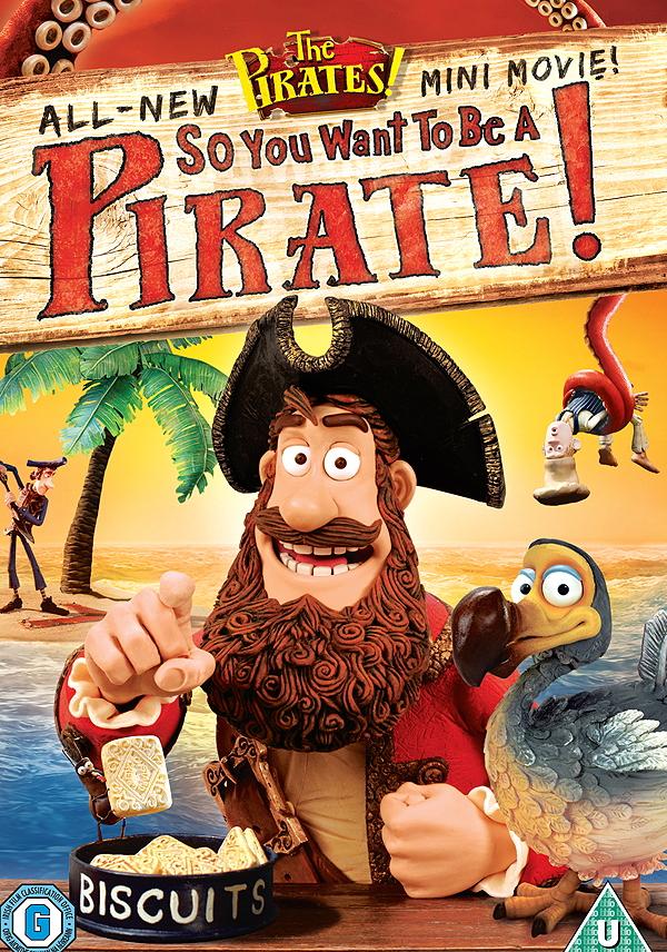 So You Want To Be A Pirate! DVD Cover