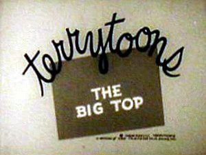 The Big Top Reissue Title Card