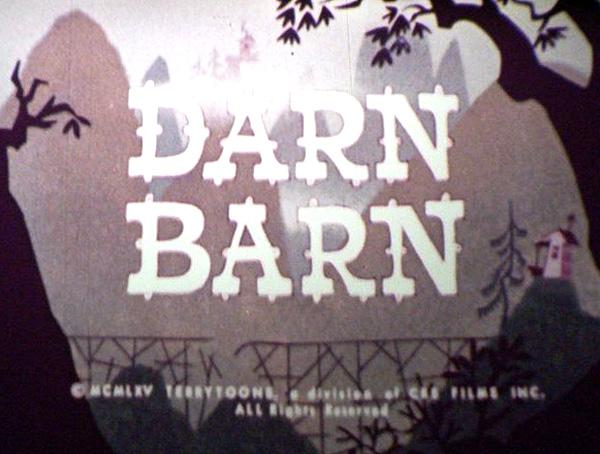 'Darn Barn' Title Card