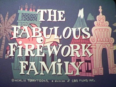 <i>The Fabulous Firework Family</i> Title Card