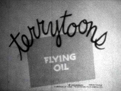Flying Oil Rerelease Title Card