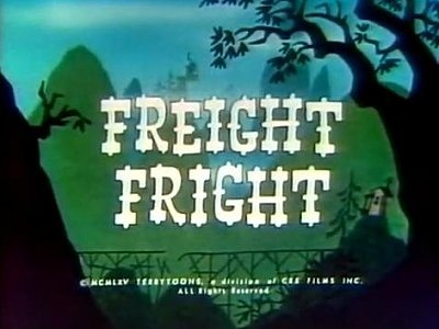 'Freight Fright' Title Card