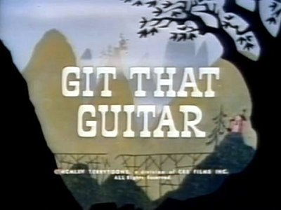 Get That Guitar Title Card