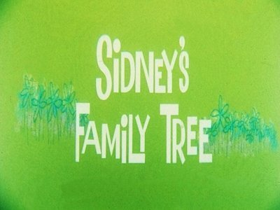 Sidney's Family Tree Original Title Card