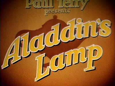 Aladdin's Lamp Title Card