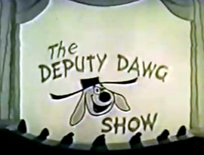 The Deputy Dawg Show Series Title Card