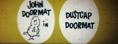 Dustcap Doormat Original CinemaScope Title Card