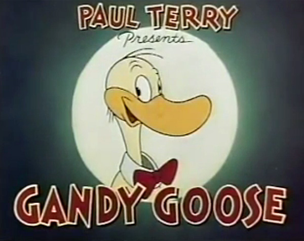 Gandy Goose Series Title Card