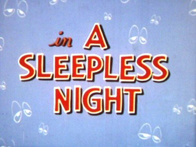 A Sleepless Night Original Title Card
