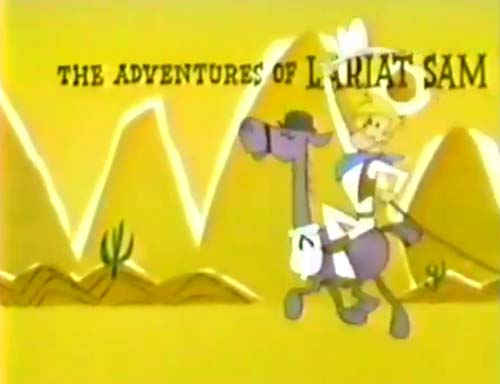 The Adventures of Lariat Sam Television Series Title Card