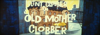 Old Mother Clobber Original CinemaScope Title Card