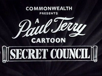 Mice In Council Reissue Title Card (as Secret Council)