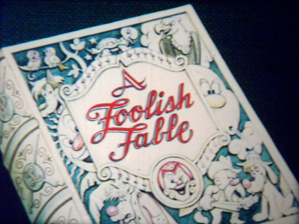 'Foolish Fables' Series Title Card