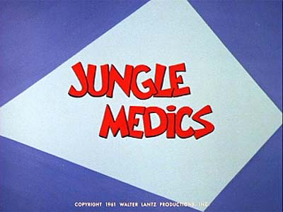 <i>Jungle Medics Television Episode</i> Title Card