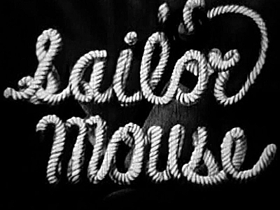 Sailor Mouse Original Title Card