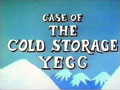'Case Of The Cold Storage Yegg' Title Card
