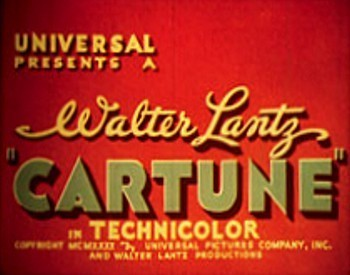 Original Cartune Series Title Card