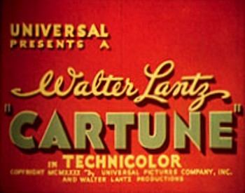 Cartune Series Title Card