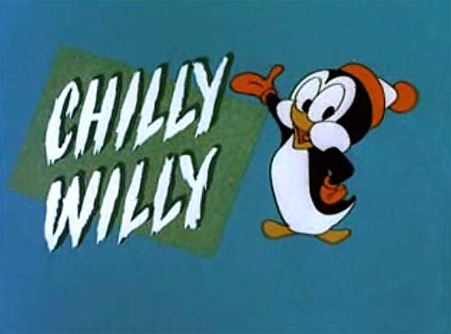 'Chilly And The Woodchopper' Original Series Title Card