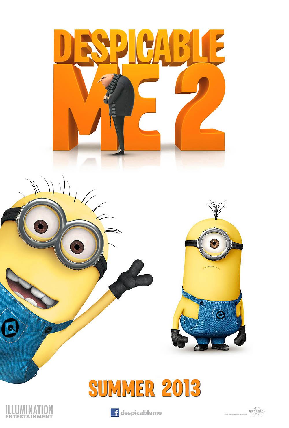 Despicable Me 2 Pre-Release Poster
