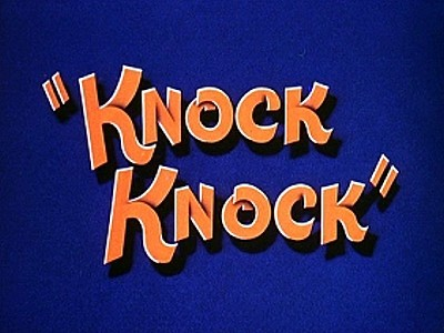 Knock Knock Original Title Card