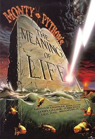 'Monty Python's The Meaning Of Life' Original Release Poster