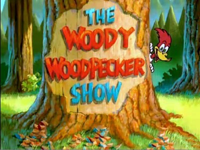 'The All New Woody Woodpecker Show Television' Series Title Card