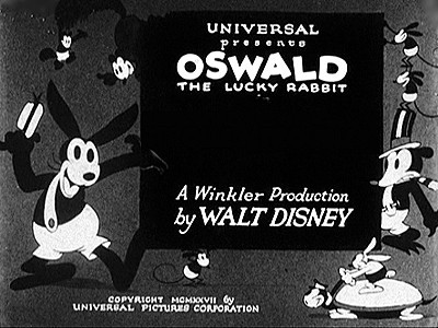 <i>Oswald the Lucky Rabbit</i> Series Title Card