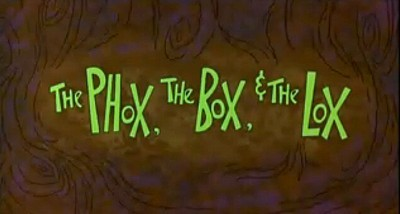 <i>The Phox, The Box & The Lox</i> Title Card