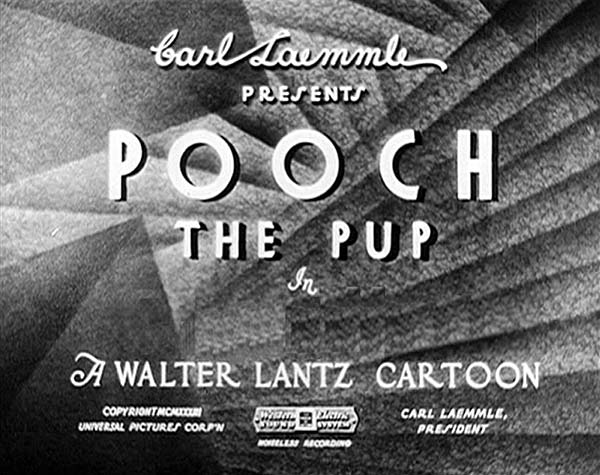 'Pooch the Pup' Series Title Card