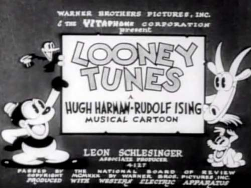 Bosko Shipwrecked! Looney Tunes Opening Title