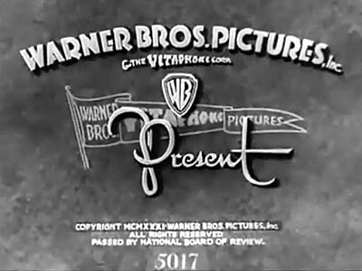 Bosko The Musketeer Looney Tunes Opening Title