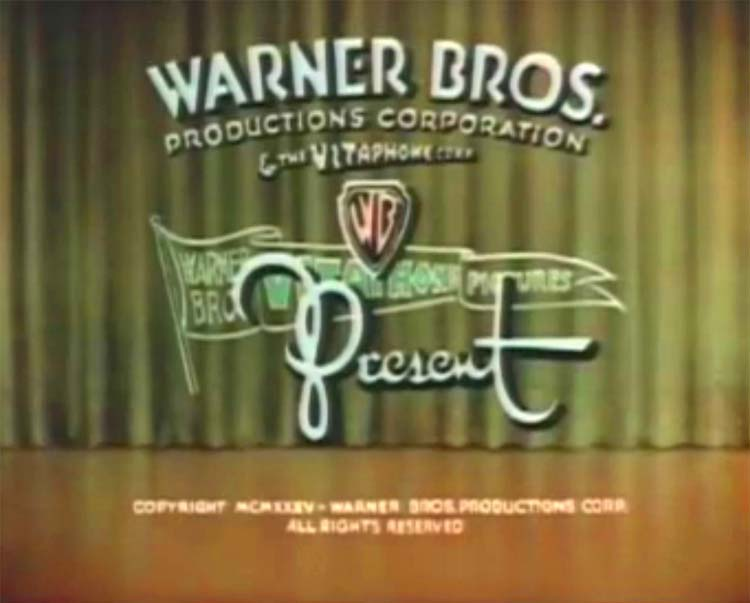 Flowers For Madame TechniColor Merrie Melodies Opening Title