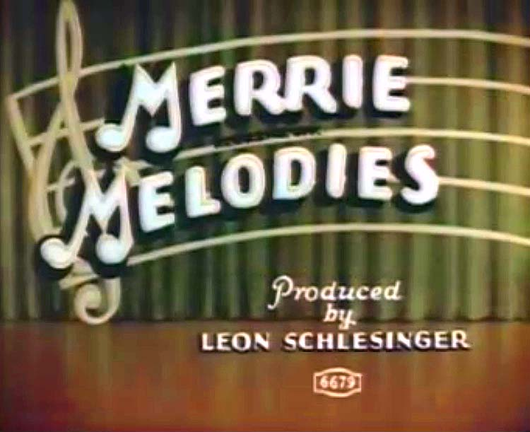 Generic 1935 TechniColor Merrie Melodies Title Card