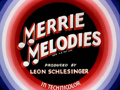 Mid-1940's Merrie Melodies Title Card