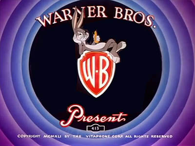 Merrie Melodies Bugs Bunny Title Card
